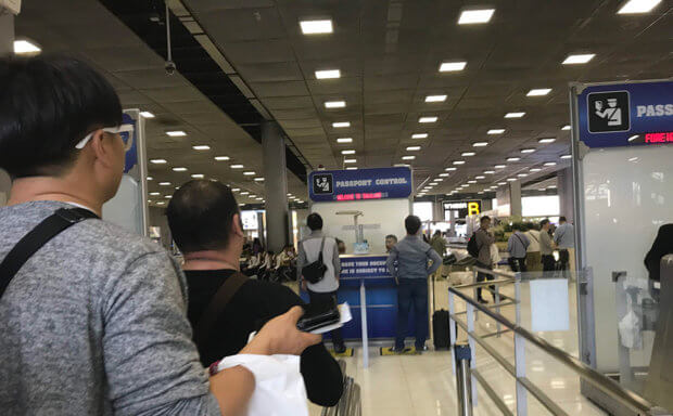 クアラルンプール国際空港PASSPORT CONTROL
