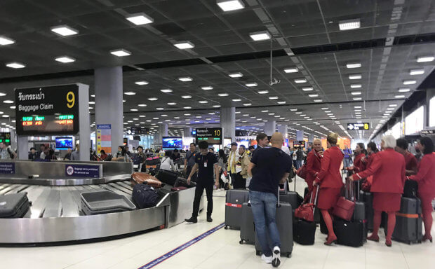 クアラルンプール国際空港カート受付