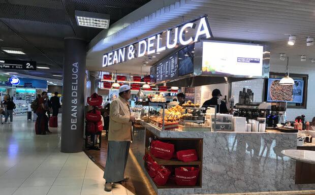 クアラルンプール国際空港内、DEAN&DELUCA